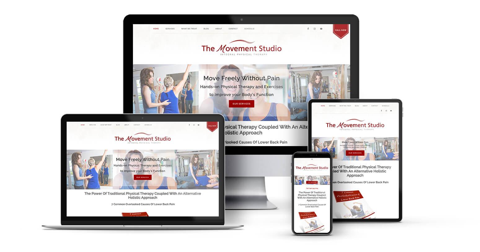 The Movement Studio | Responsive Design