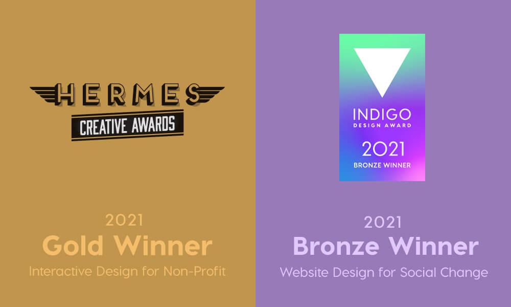 Ruby Slipper Wins Two Website Design Awards