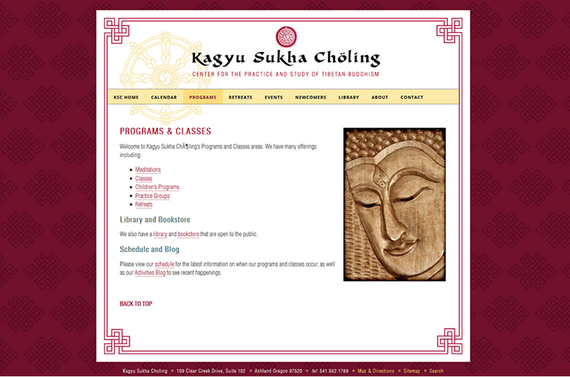 Kagyu Sukha Choling of Ashland Oregon