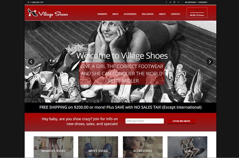 Village Shoes of Ashland Oregon
