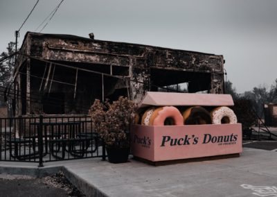 Puck's Donuts - Photo by Luis Alfaro