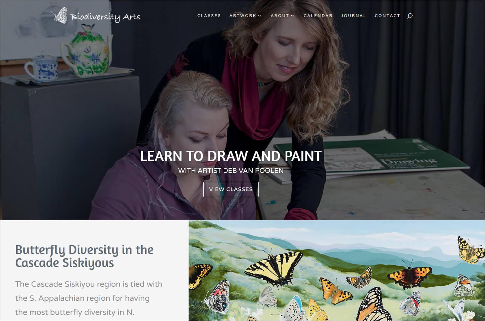 Biodiversity Arts, Deb Van Poolen